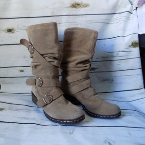 Mia buckle Suede Boot